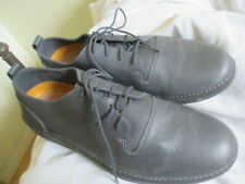 CLARKS ACTIVE AIR MENS GRAY LEATHER LACE UP SHOES, SIZE 12M