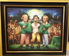 Authentic David O'Keefe Caddyshack Framed Print - A tribute to Carl Spackler