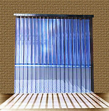 PVC Strip Curtain / Door Strip 1,25mtr w x 2,00mtr long