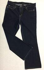"""CALVIN KLEIN JEANS Women's size 12 'Flare' Blue Denim waist= 34"""" Stretch Ladies"""