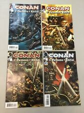 Conan Demons Of Khitai 1-4 Complete Set 1 2 3 4 Dark Horse Comics 2005