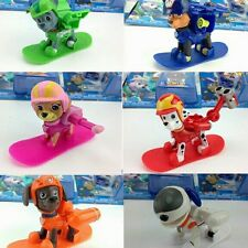 8PCS Russian Cartoon Patrol Puppy Dog Toys Action Figures Doll