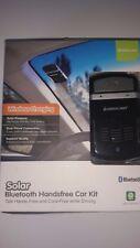 IOGEAR Solar Bluetooth Hands-Free Car Kit GBHFK231 (Black) Factory Sealed