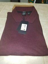 Hugo Boss Pallas Regular Fit Pima Cotton Burgundy Polo 50303542 XXL