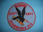 "VIETNAM WAR PATCH,  US Co. A 377th ARTILLERY ""GUNNER""  101st AIRBORNE DIV.ISION"