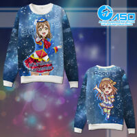 Love Live Sunshine Kunikida Hanamaru Cosplay Anime Hoodie Sweatshirt Casual Coat