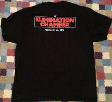 WWE Local Crew Shirt Elimination Chamber 2018 Sz XL World Wrestling PPV Black