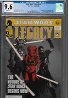 Star Wars Legacy 1 CGC 9.6 Dark Horse 2006 1st Darth Krayt Nihl Cade Skywalker
