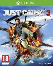 Just Cause 3 Xbox One Brand New Factory Sealed