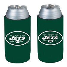 New York Jets 2 Pack Ultra Slim Can Holder - Skinny Koozie