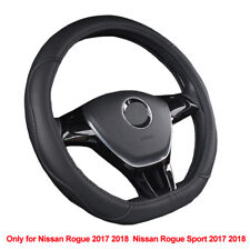 D Type Car steering Wheel Cover For Nissan Rogue / Rogue Sport 2017 2018 2019