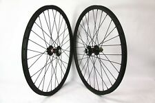 26er Carbon wheelset 24mm width mountain bicycle wheels with Novatec hubs QR 10S