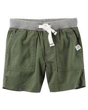 Carters Boys Pull-On Twill Shorts!! Nwt!! Sz. 4