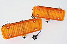 Pair 71-72 Chevy C10 Truck Front LH/RH Bumper Turn Light Parking Lamp Assemblies
