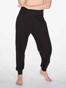 Thought Clothing Organic Ladies Bamboo Dashka Trouser Black