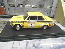 BMW 2002 Rallye 1602 Alpina Zweibäumer 1972 #6 Vorderpfalz FPM Scala Trofeu 1:43