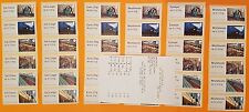 'POST & GO' - NCR - RM HERITAGE - MAIL BY RAIL  FULL SET OF 36