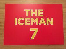 KIMI RAIKKONEN F1 WORLD CHAMPION THE ICEMAN 7 AUSTRALIA GRAND PRIX SPONSOR CARD