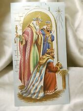Holiday Seasonal Card Christmas Blessings Greetings Gift Post Vintage
