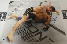 Frank Mir Signed 16x20 Photo BAS Beckett COA UFC 140 Nogueira Broken Arm Picture