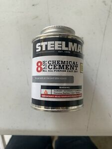 Steelman Chemical Vulcanizing Cement 8oz. Tire Repair Sealant G10105 Case Of 4