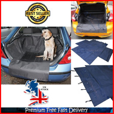 Car Boot Liner With Bumper Flap Waterproof Dirt Mud Pet Paw Protector Universal