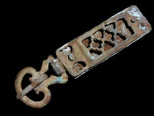 Extremely Rare Roman Legio Military Belt Plane Loop Buckle, As Found+