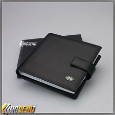 deluxe Land Rover Leather CD Case Car DVD Holder Disc Album Disk Storage Carry