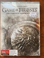 196a Region 4 DVD Game of Thrones 8 Season