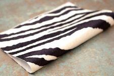 "Vintage Miniature Teddy Bear Making Fabric 9 x 7"" Zebra 50001188"