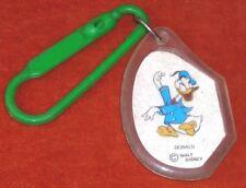 Porte-clés Keychain Walt Disney Dody-Plast Romainville Donald Coin coin Picsou