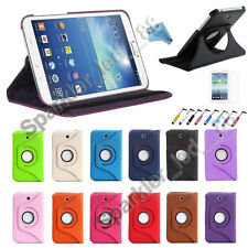 "Tab 4 Samsung Galaxy Tablet T230 7.0 Rotating 360 Case Cover w/ Stand 7"" Tab4"