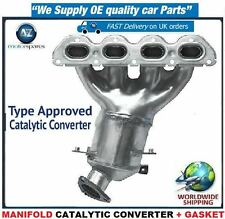 FOR OPEL VAUXHALL ASTRA MK5 12/2006-12/2011 1.6 NEW MANIFOLD CATALYTIC CONVERTER