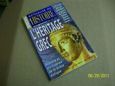 """atualité de l'histoire 55 """" heritage grec """" TBE"""