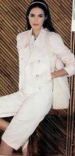 Bloomingdales  NEW $149  Pink & White Seersucker Jacket  Sz 6