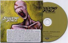 SHADOWS FALL Redemption 2007 European 2-track promo CD