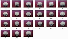 """2 Euro commémorative 2012 """"10 Ans de l'Euro"""" - Tous les pièce disponibles"""