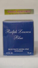 RALPH LAUREN BLUE FOR WOMEN 2.5 OZ/75 ML EAU DE TOILETTE EDT SPRAY NIB RARE DISC