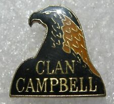 Pin's Alcool Whisky Clan Campbell Tète d'Aigle #808