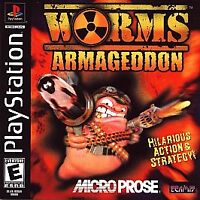 Worms: Armageddon (Sony PlayStation 1, 1999) DISC ONLY