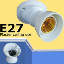 ANGLE Plaster Ceiling Edison Screw BULB Lamp e27 ES Batten holder lighting