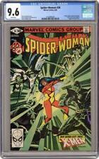 Spider-Woman #38 CGC 9.6 - X-Men crossover (1981, Marvel Comics)