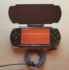SONY PSP 1001 Black Handheld Console W/Protective Cover, Charger, 2GB SD Card