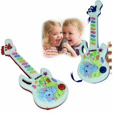 Electric Guitar Toy Musical Play Kid Boy Girl Toddler Learning Electron Toy BN