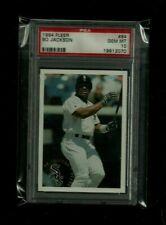 Bo Jackson 1994 Fleer #84 PSA 10 GEM MINT! SUPER RARE! Chicago White Sox LEGEND!