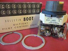 Allen Bradley 800T-J4KC1 Ser N Oiltight Pilot Control Unit