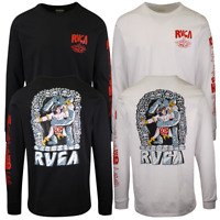 RVCA Men's Barbarian Regular Fit L/S T-Shirt (S12)