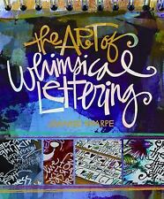 The Art of Whimsical Lettering by Joanne Sharpe * BRAND NEW & FREE SHIPPING