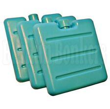 3 MINI ghiaccio Mattone Blocco Pack Set Freezer Refrigeratore Scatola Pranzo Borsa da viaggio riutilizzabile