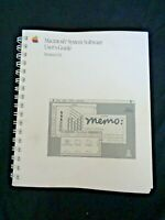 1988 Apple Computer Macintosh System Software User's Guide Version 6.0 MAC Book